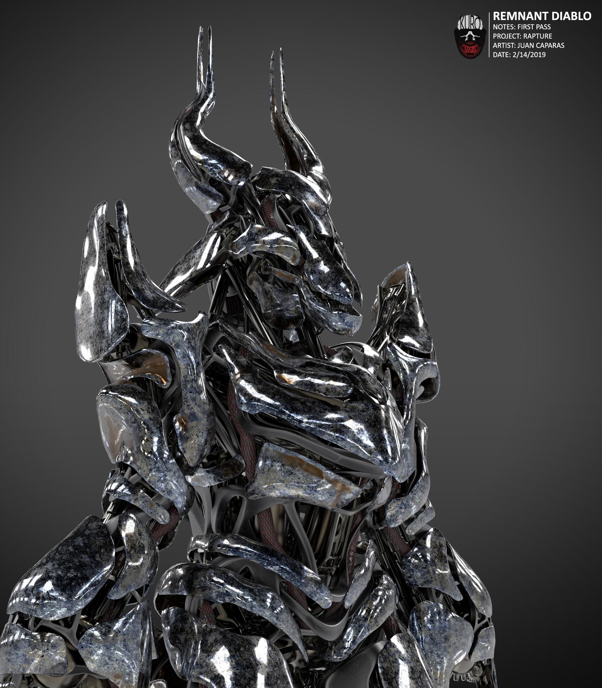 Remnant Diablo Concept   Kuro Majin Productions