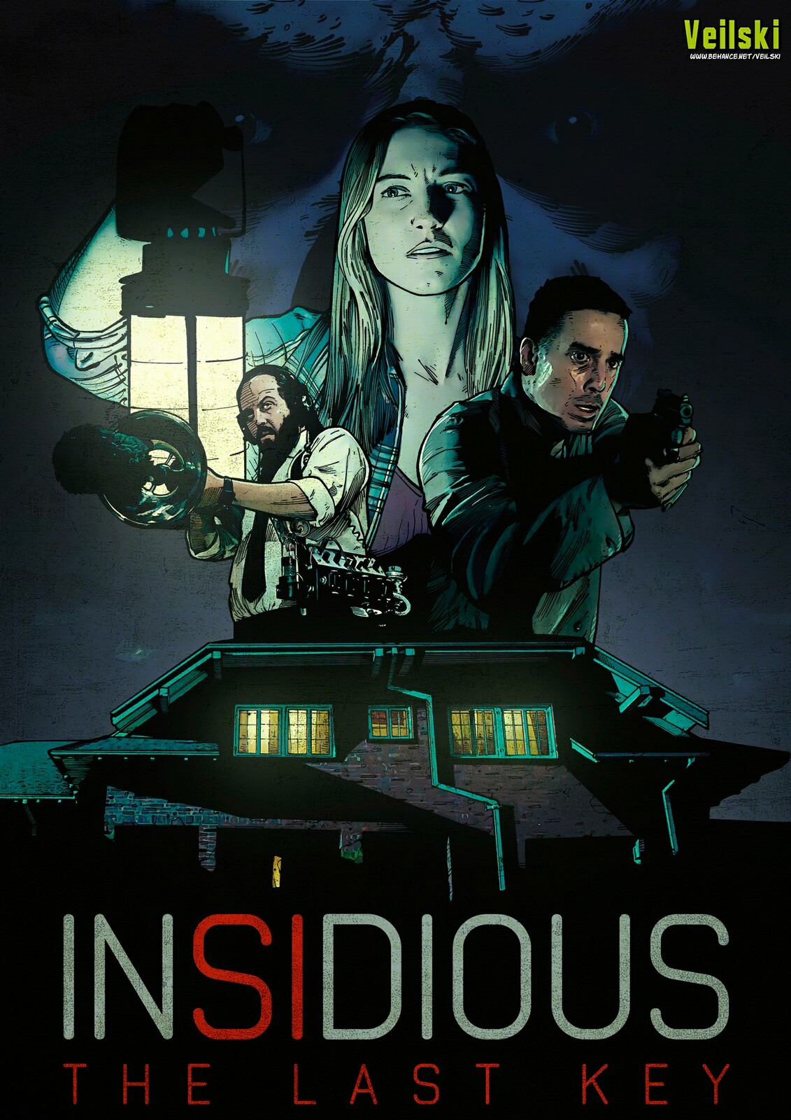 Insidious The Last Key alternative poster 2