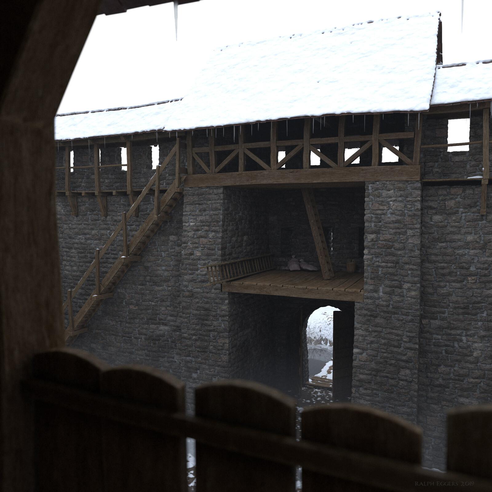 Inside Castle Weiler