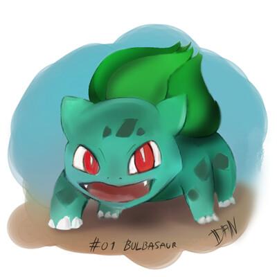 Daniel r richter 01 bulbasaur
