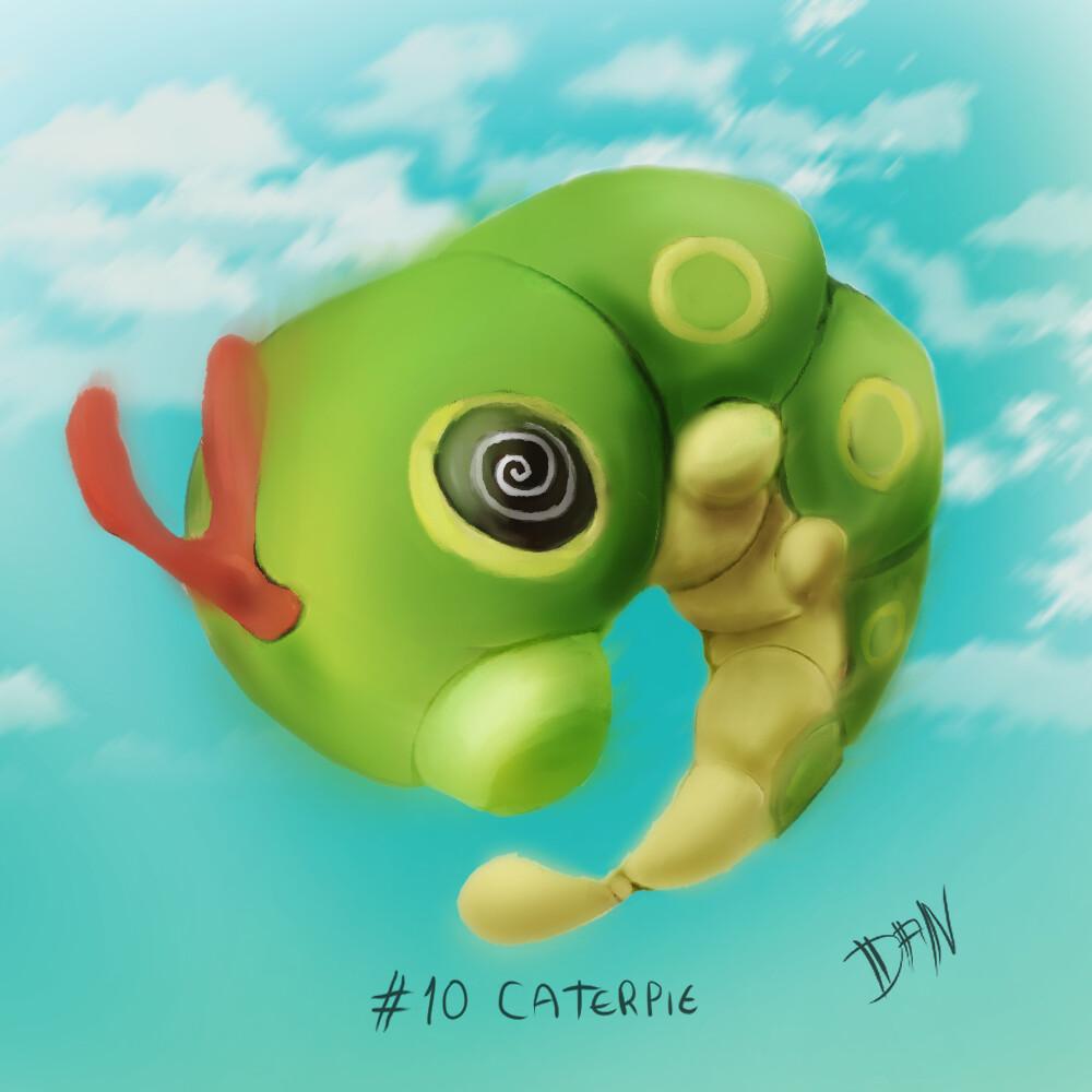 10 - Caterpie