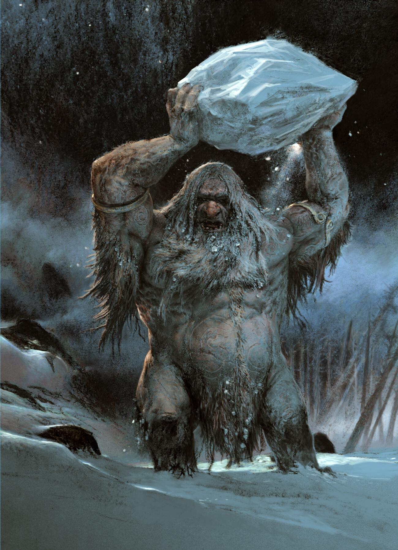 Adrian smith frost giant illo colour lo