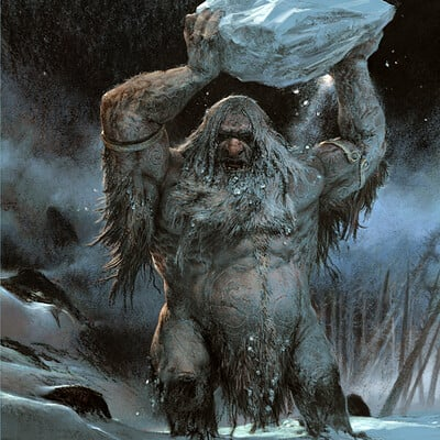 Adrian smith frost giant illo colour lo