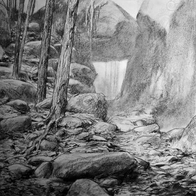 Adrian smith ram scenic bg drawing lo