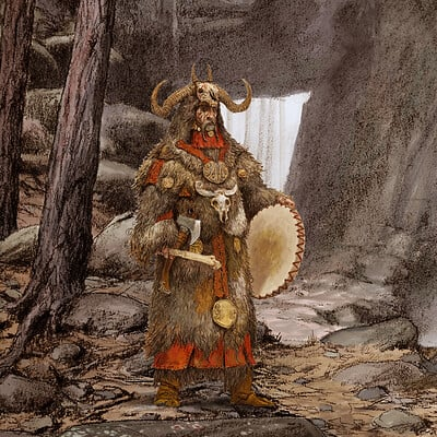 Adrian smith ram shaman colour lo