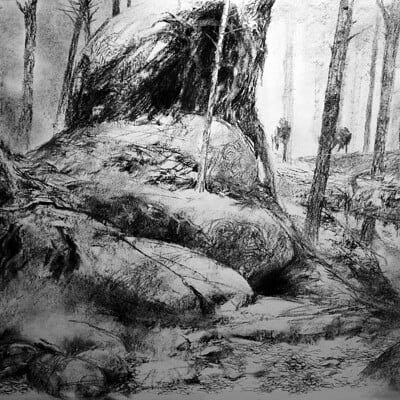 Adrian smith wolf scenic bg drawing0lo