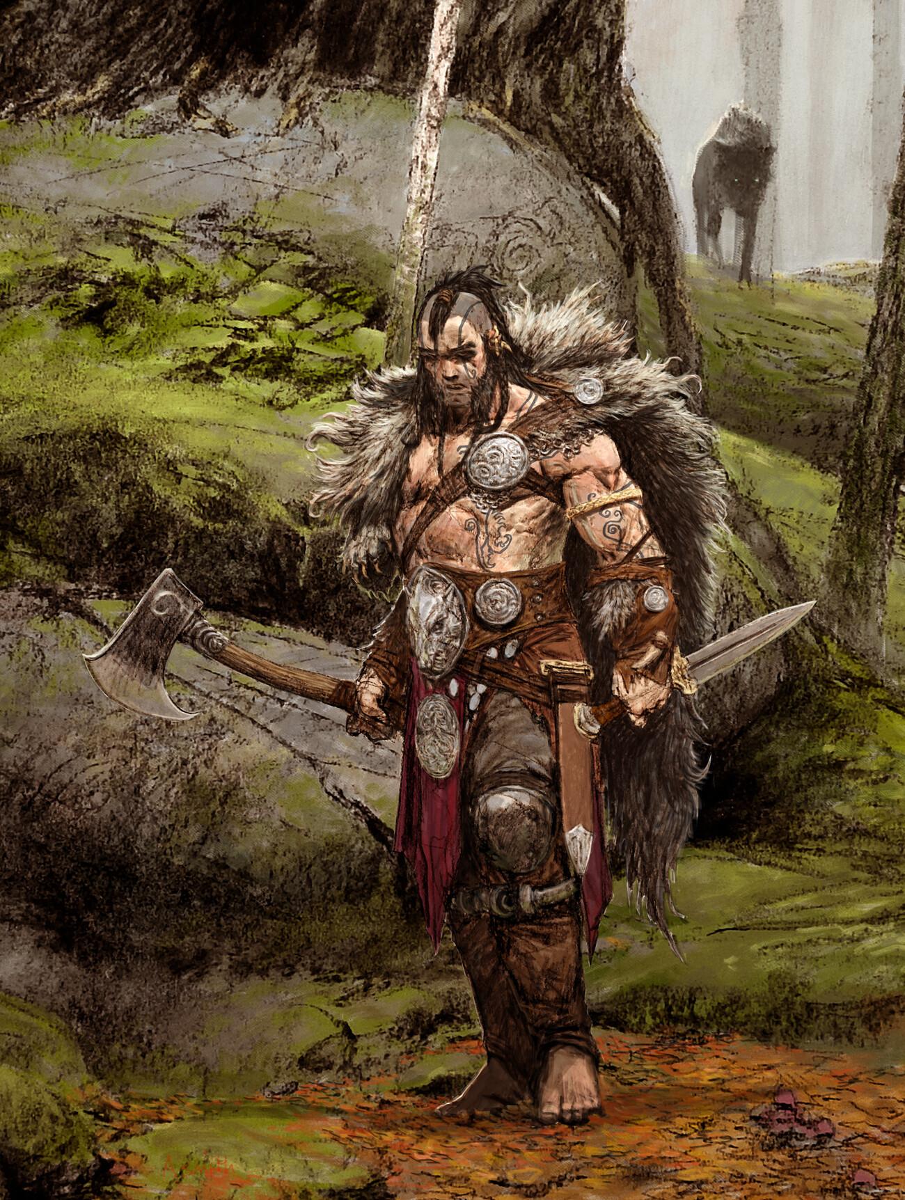 Adrian smith wolf leader colour lo