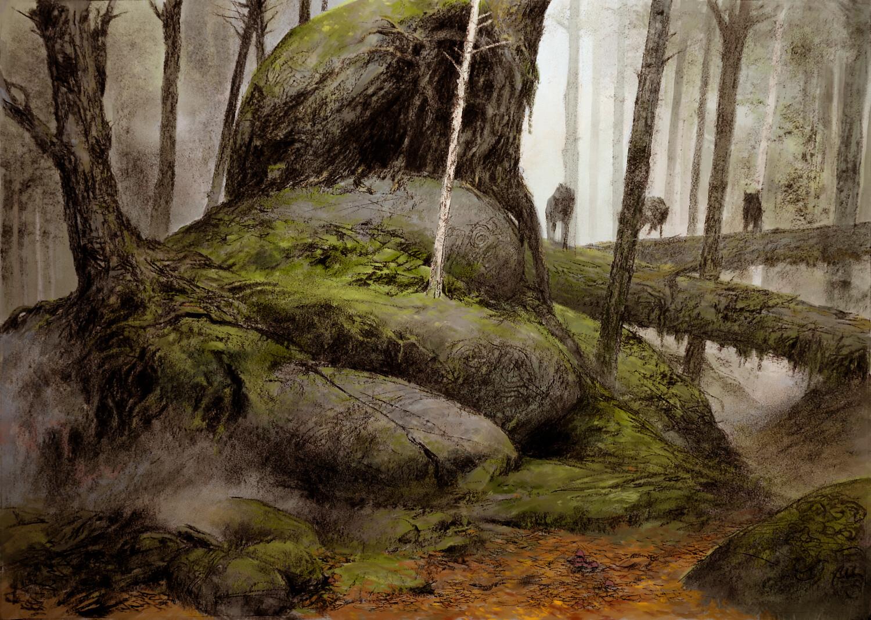 Adrian smith wolf scenic bg colour lo