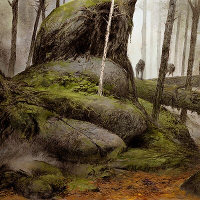 Adrian smith wolf scenic bg colour lo