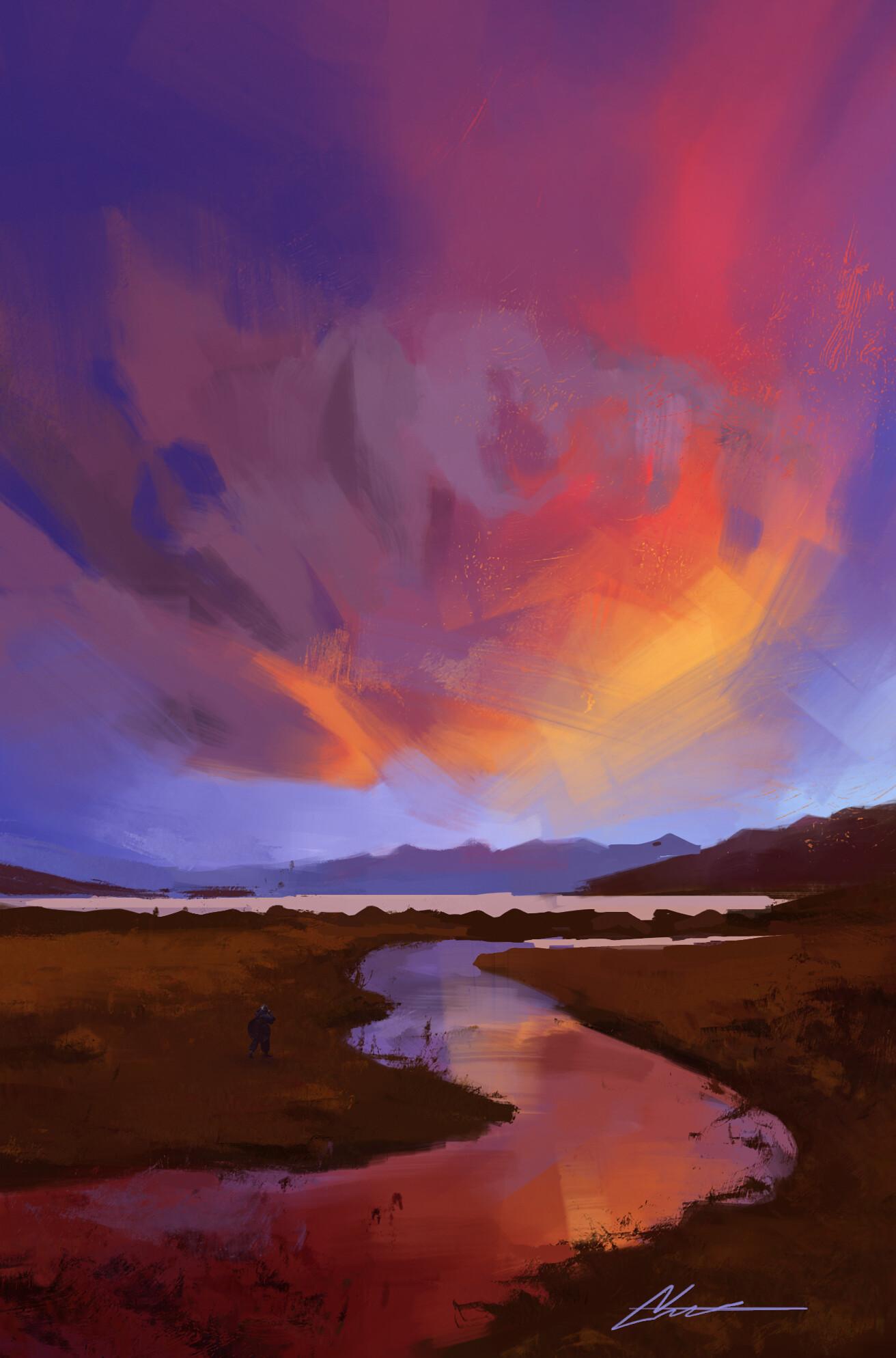 Temarius walker sunset 2018 02