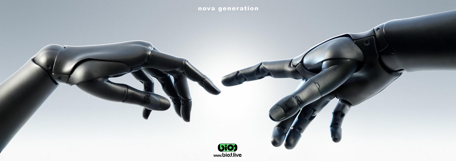 Sviatoslav gerasimchuk anthropomorphic hand bio nova generationt