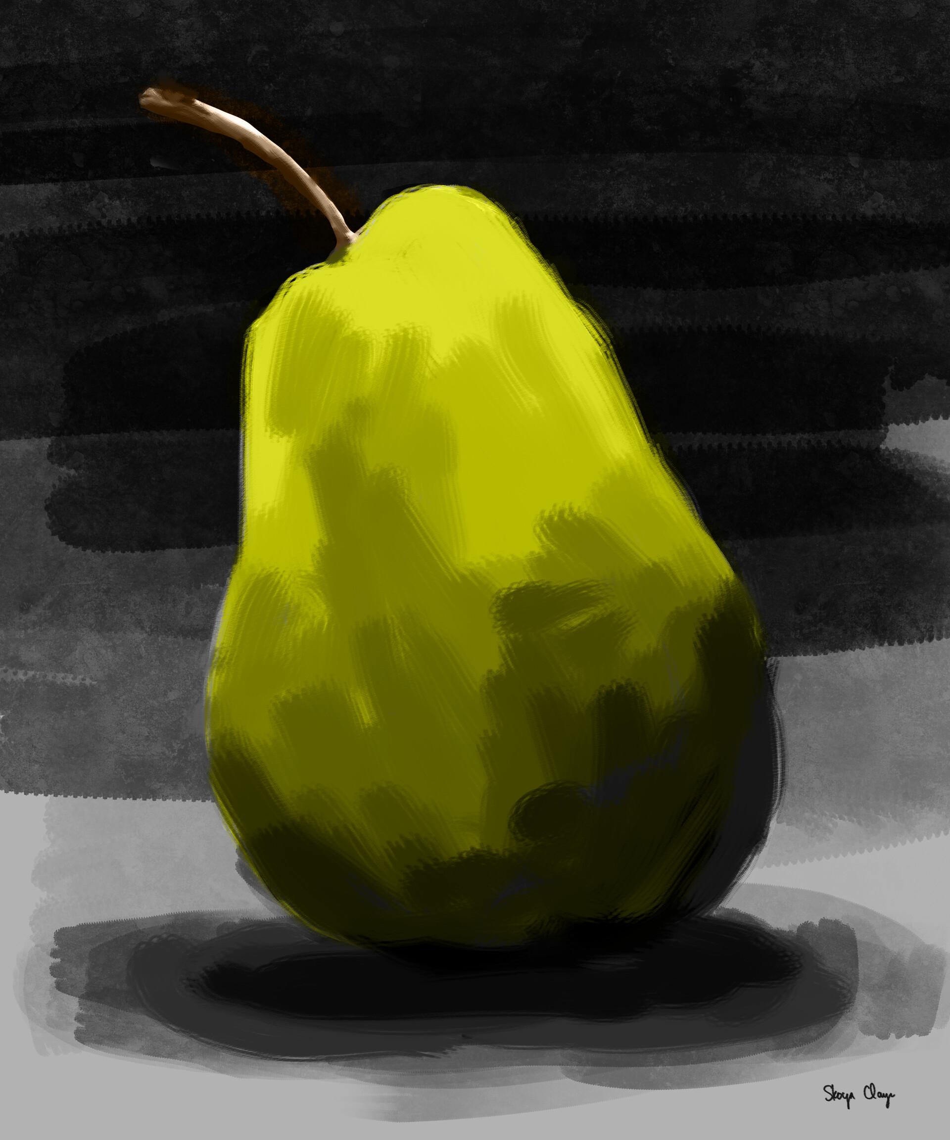 Skoya clayr pear study