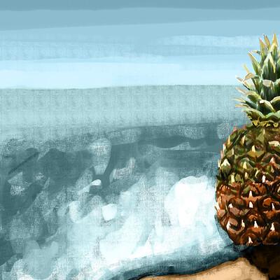 Skoya clayr pineapple