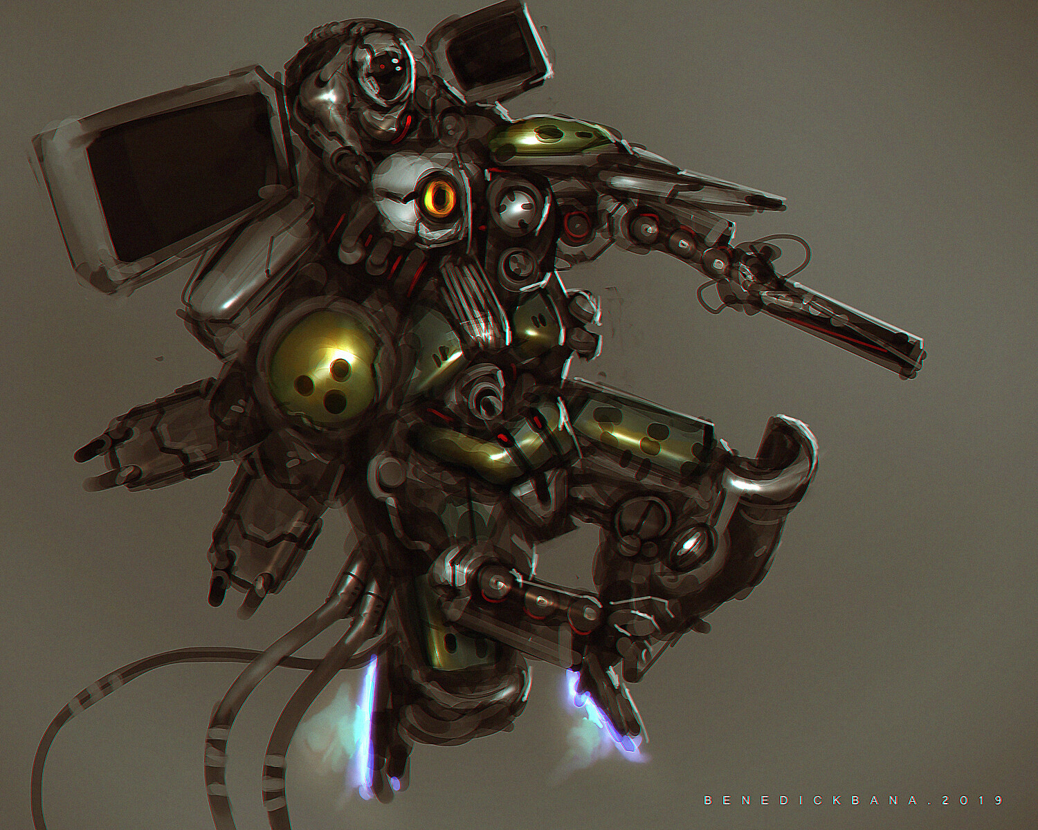 Benedick bana spacemech unit2 coloring lores