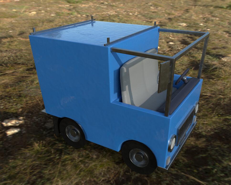 Joseph moniz work truck 2