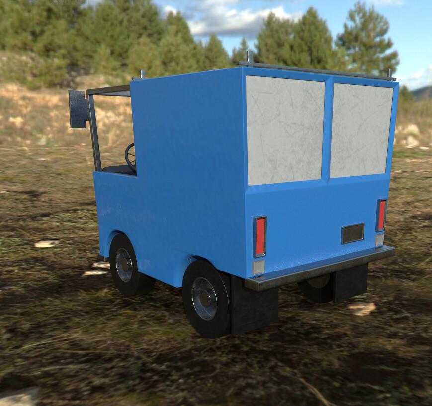Joseph moniz work truck 2 back