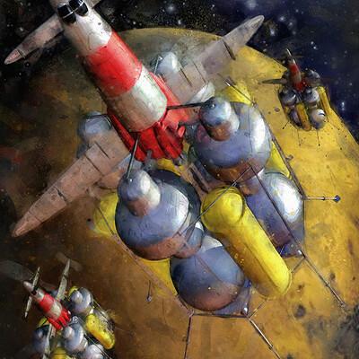 Luca oleastri mars mission lander low