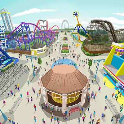 David oswald amusement park daylight small