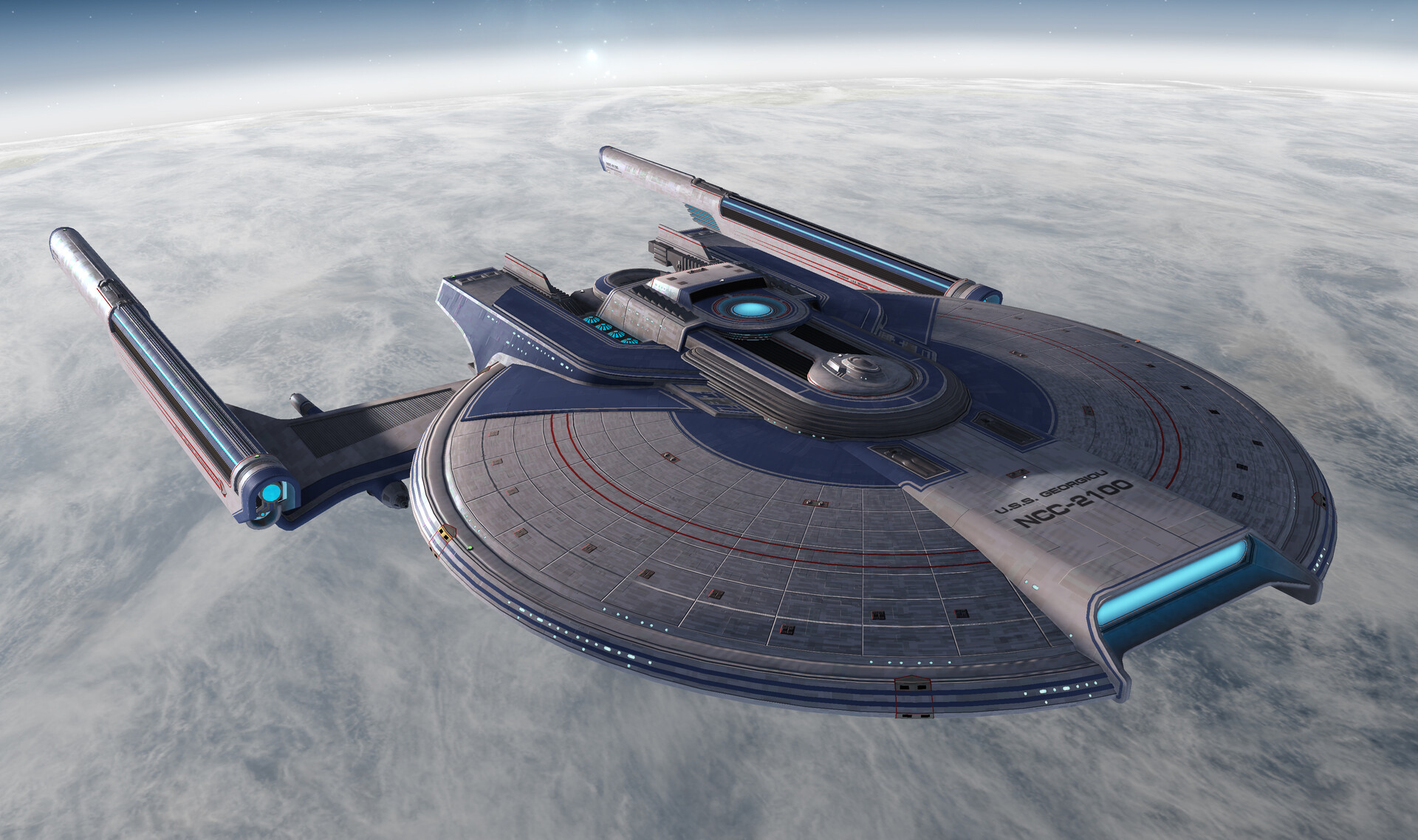 Star Trek Online in-game screenshot.