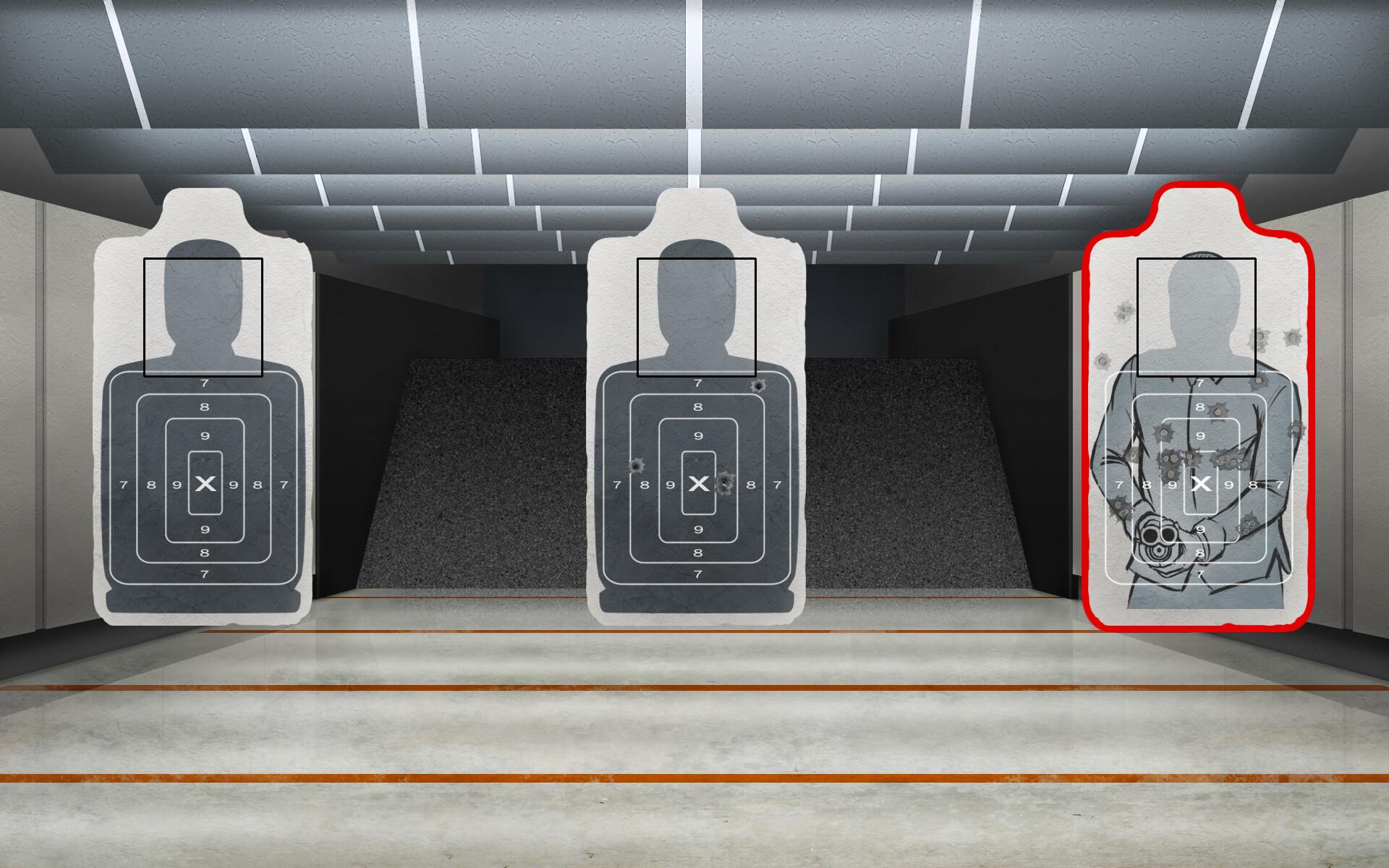 Julian vidales shooting range with targets