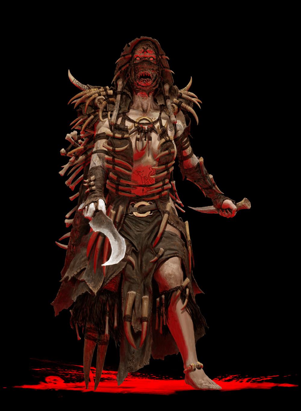 Adrian smith tribe 6 shaman coloured
