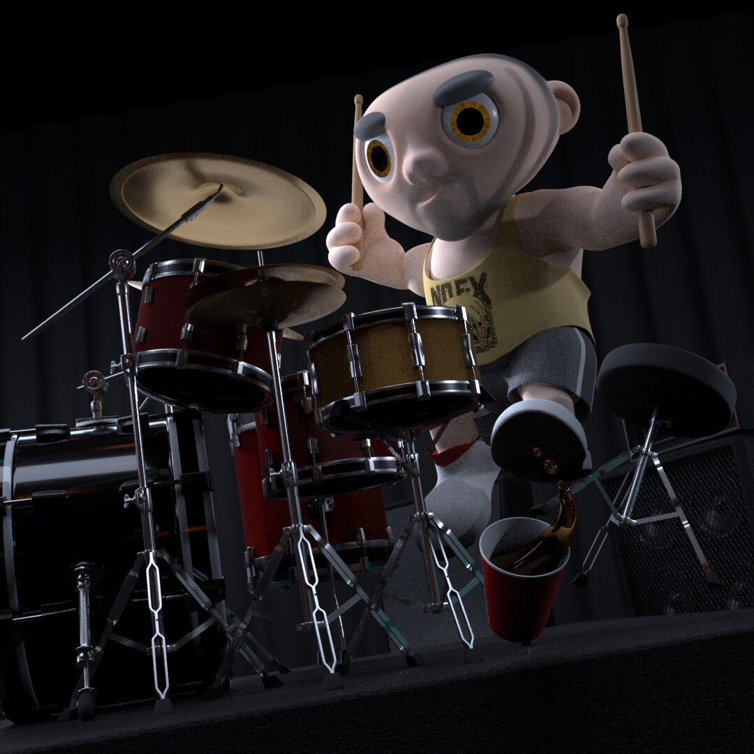 Smelly on Drums (DAY 6)