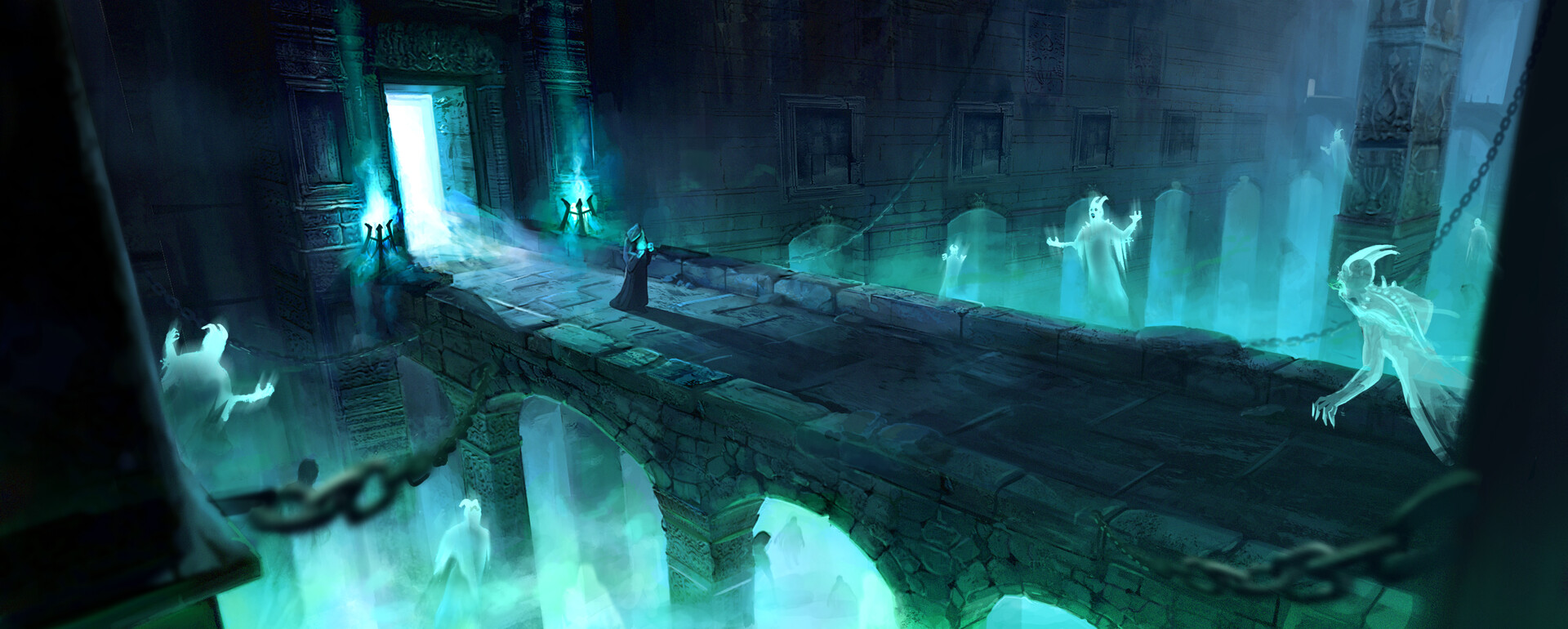 Ghost Dungeon Environment Practice