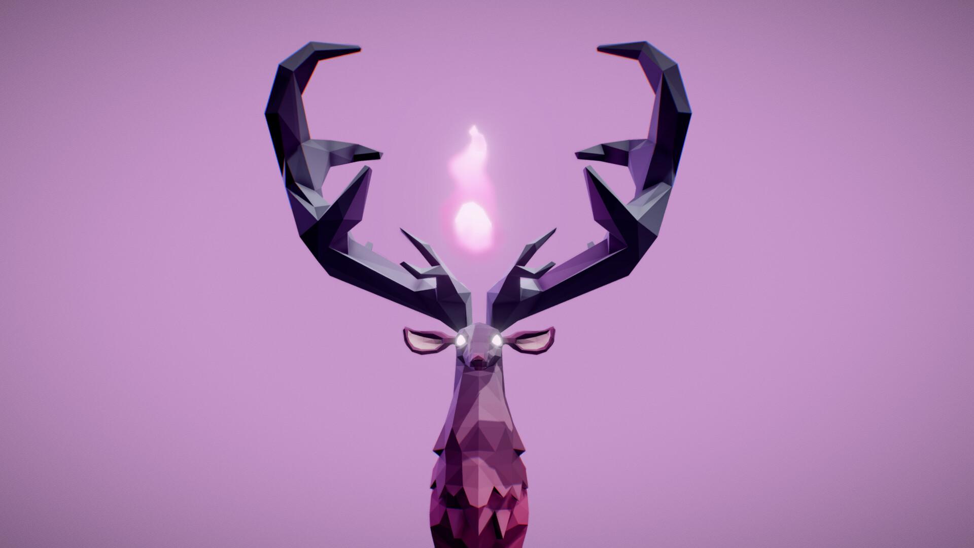 Fabian orrego fantasy deer locomotion animations 3