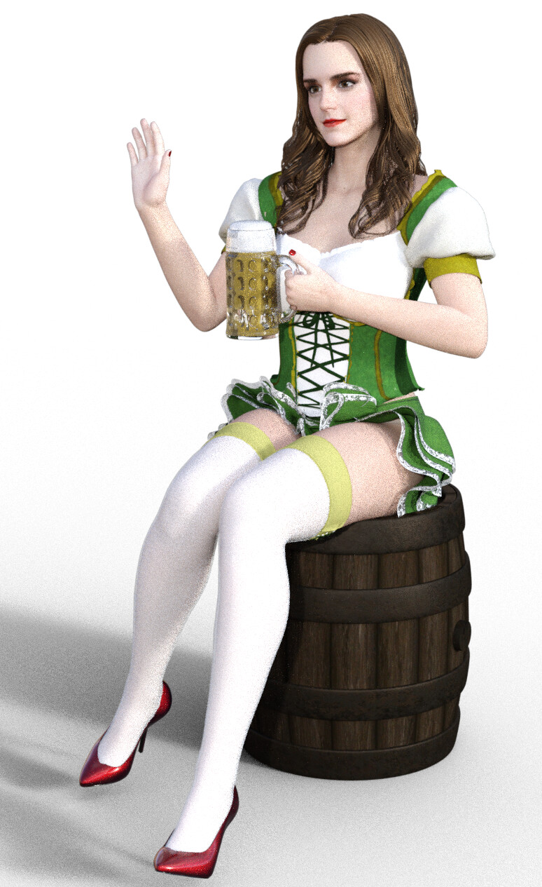 Emma watson stockings