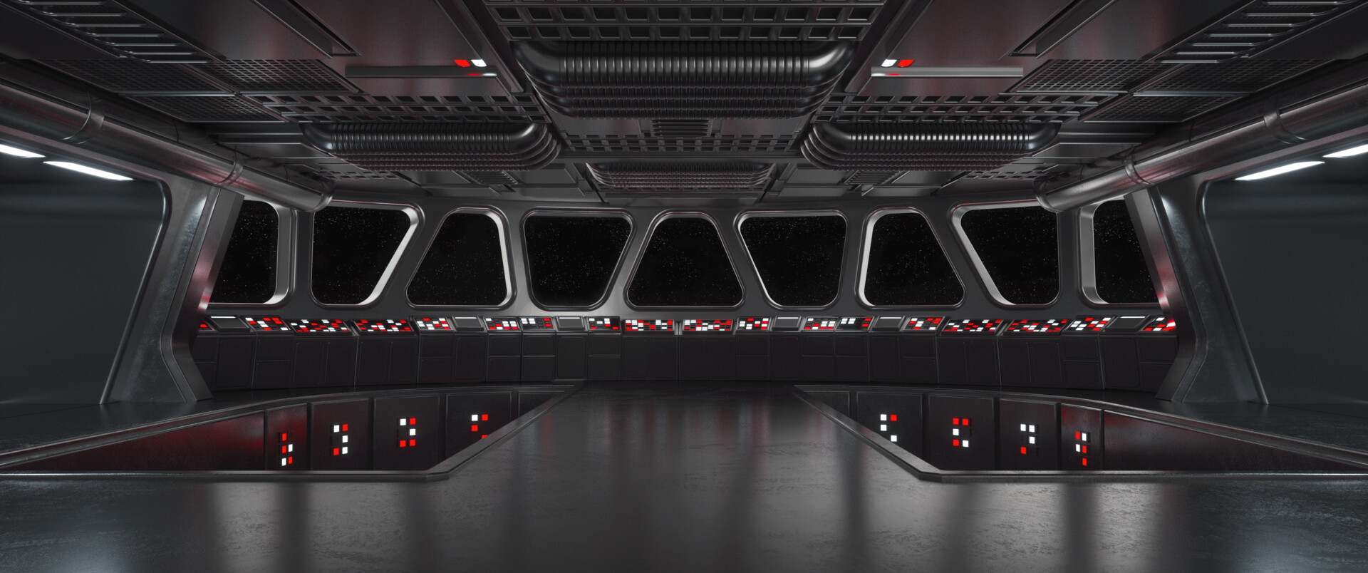 ArtStation - Star Wars Star Destroyer Bridge, Jonas M.