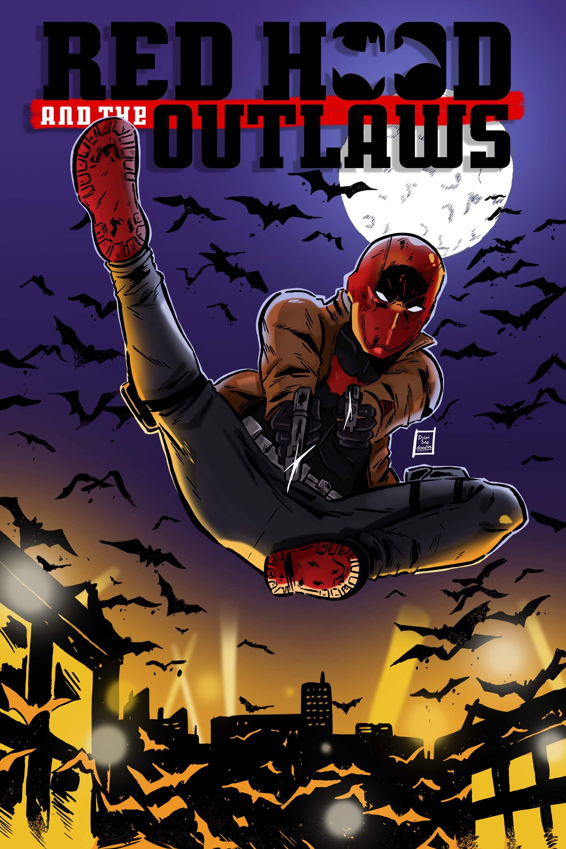 Dylan B Caleho Red Hood Mock Comic Cover
