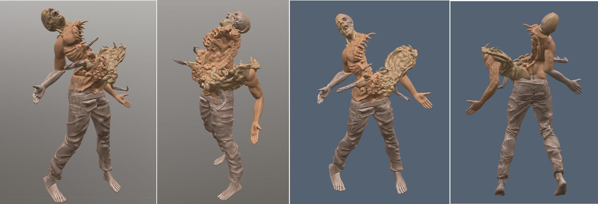 Pierre santamaria model copy