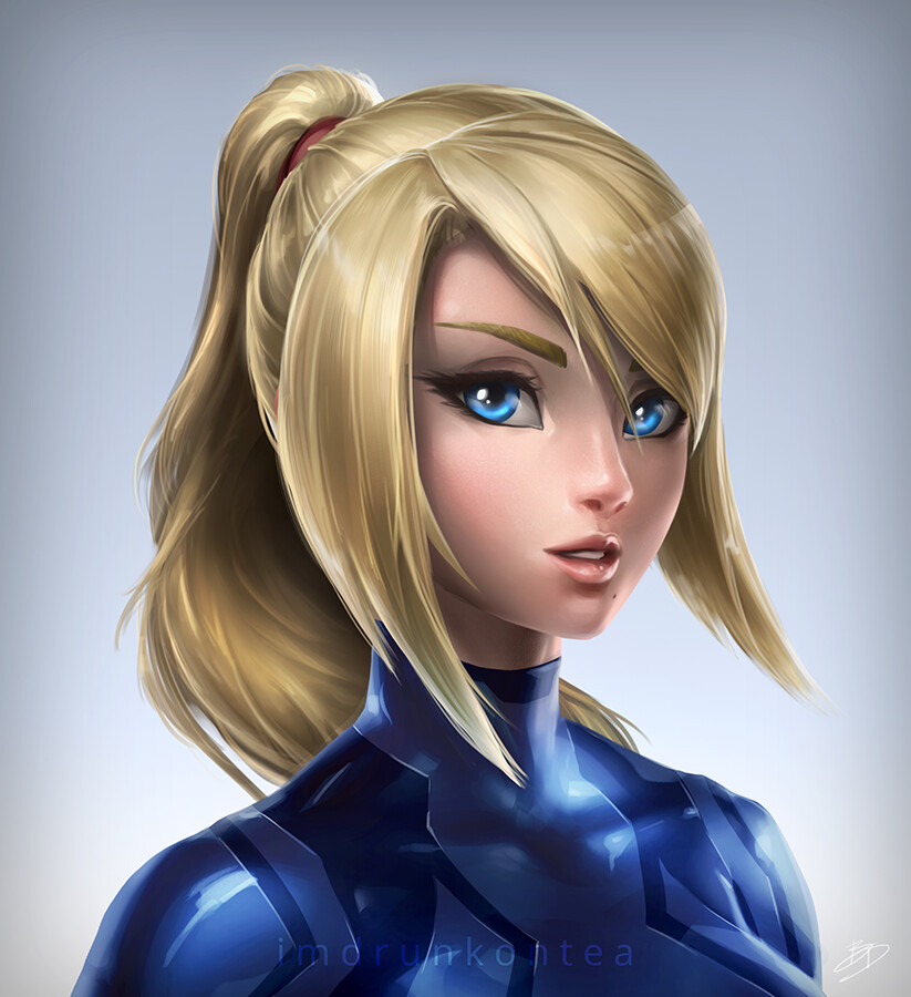 Brandon dunn zs samus portrait dark blue final web