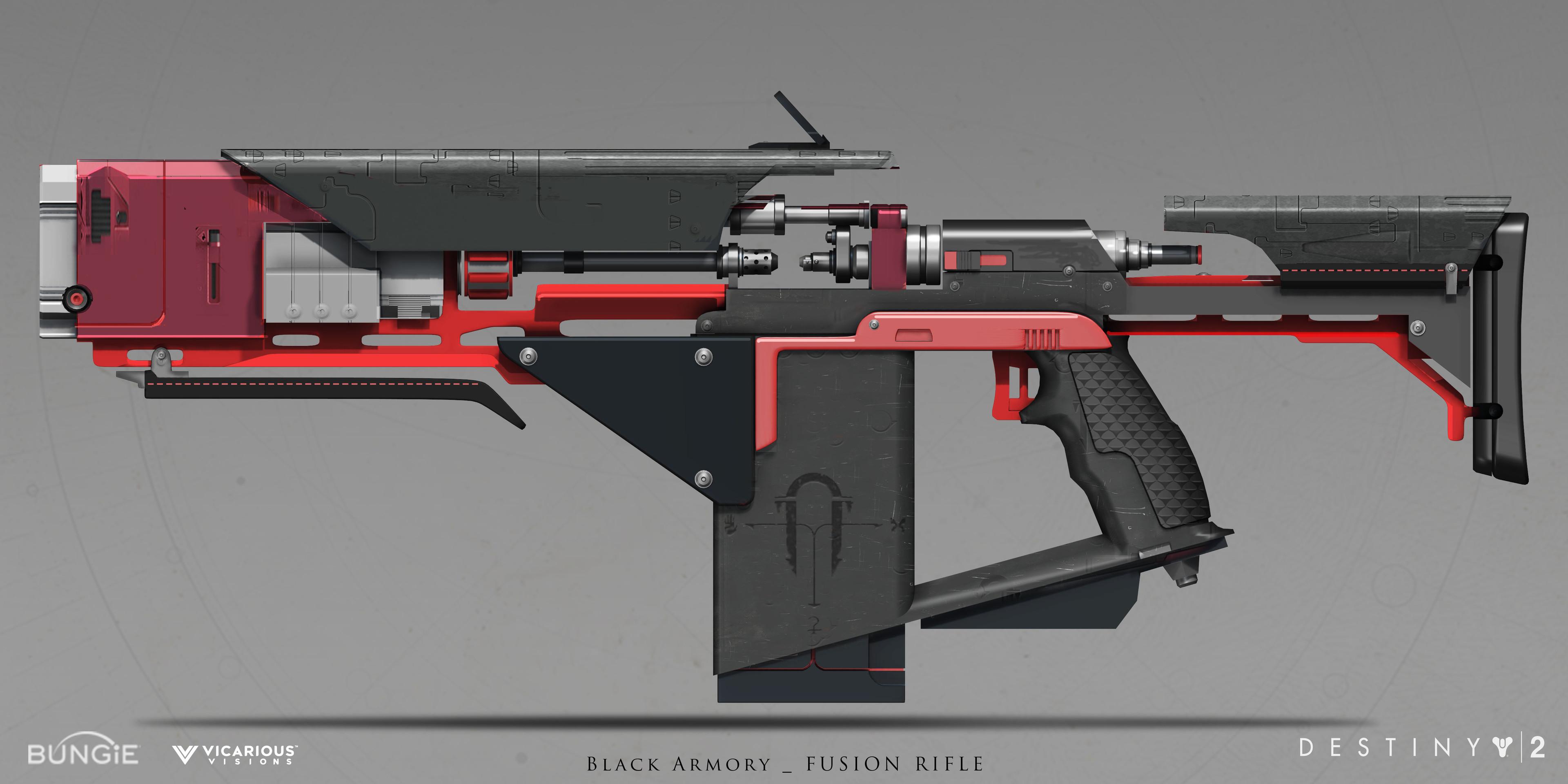 Tempered Dynamo: Weapon design for Destiny 2 Black Armory DLC