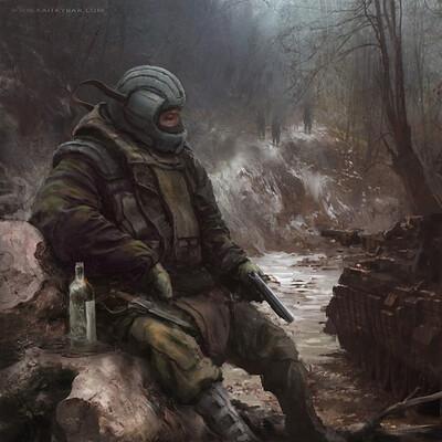 Kait kybar soldier