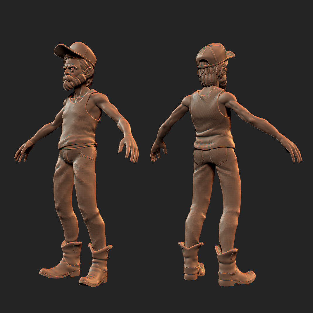 Buford Sculpt