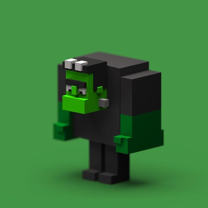 Voxel Frankenstein =)