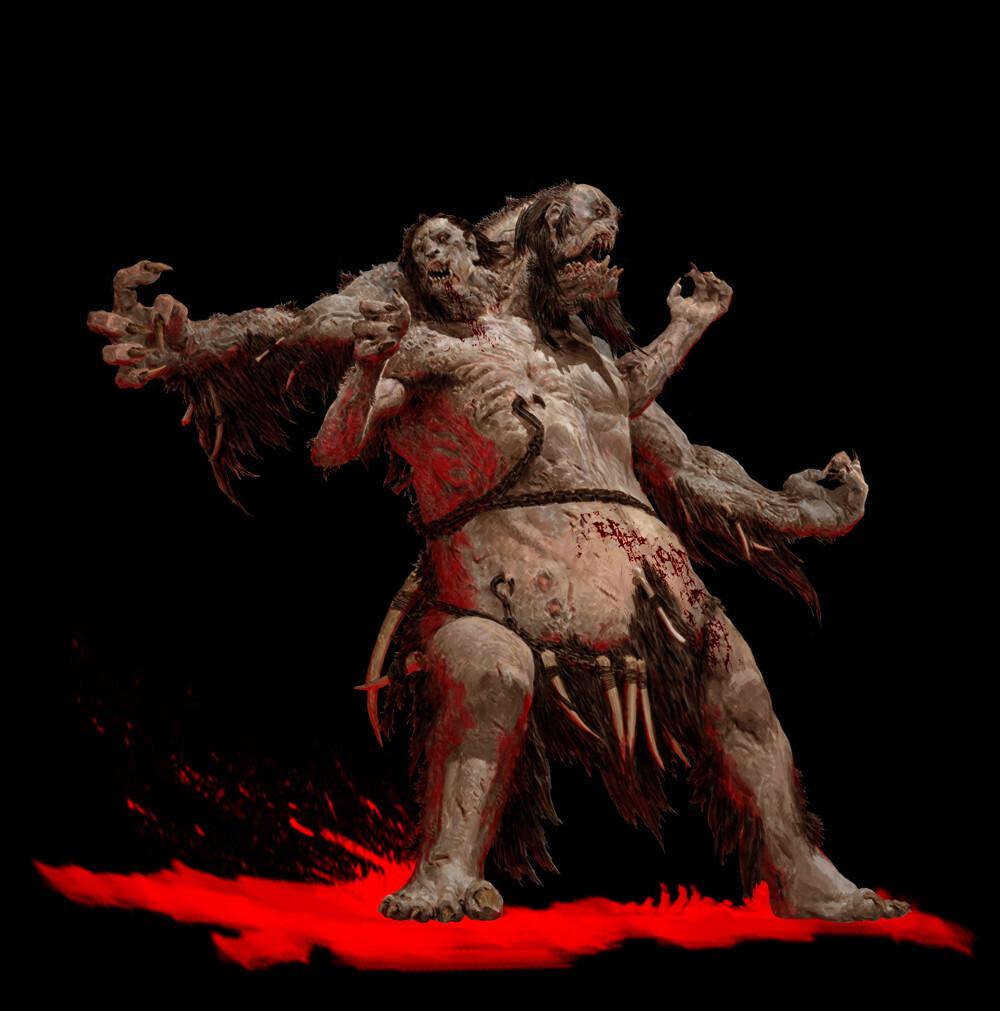 Adrian smith beast1 giant coloured