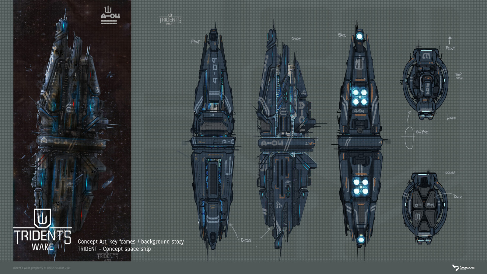 Trident - Colony ship