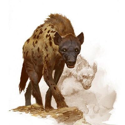 Adrian smith hyena colour lo