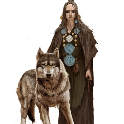 Adrian smith wolf woman colour lo