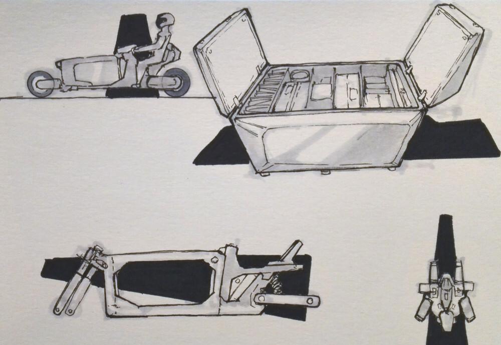 Making sense of the box and frame.