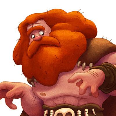 Michael dashow caveman mukamuk woolly pose 1200x900