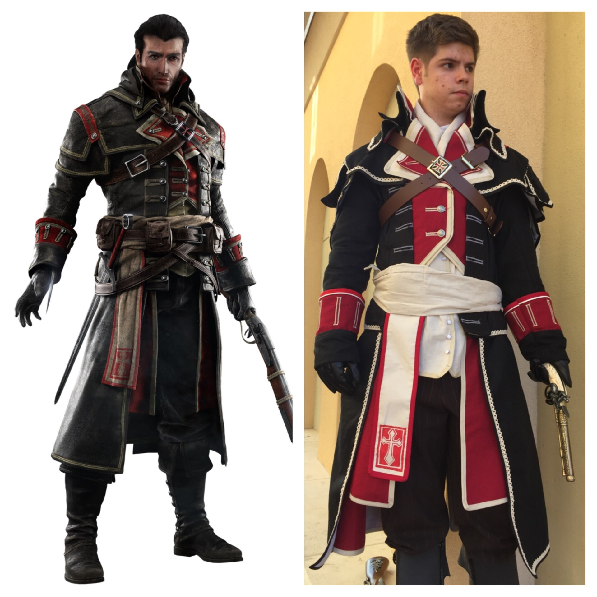 Artstation Shay Cormac Assassin S Creed Rogue Cosplay Matthew