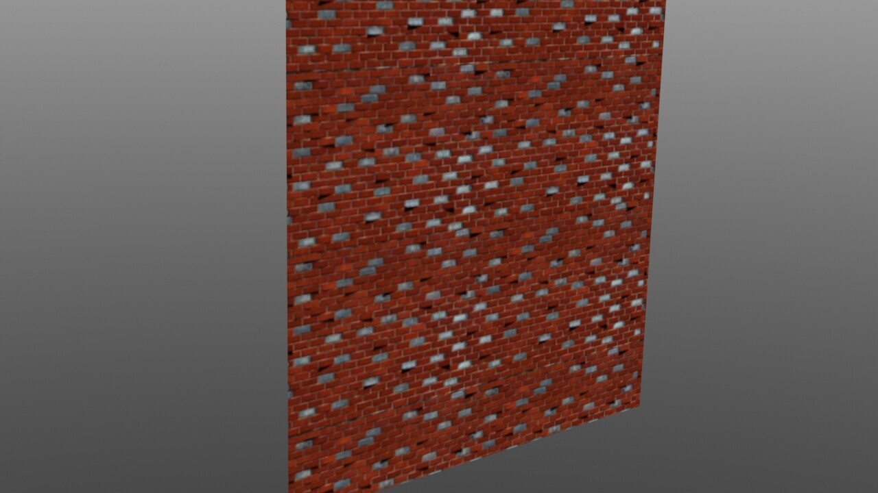 Old work - texture dev for highly-specific brick walls
