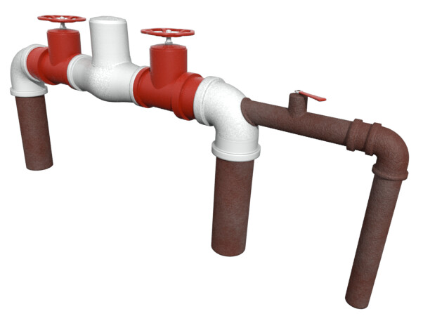 Old work - backflow preventer