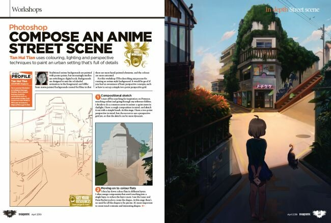 Page from ImagineFX