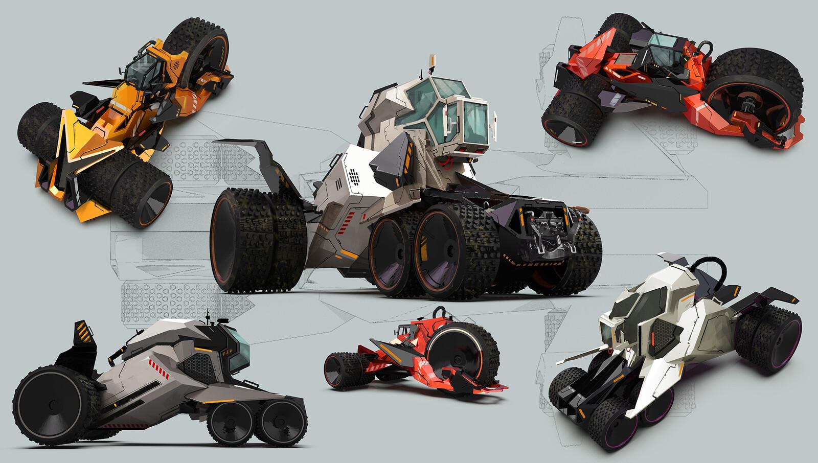 Sci-Fi Tractors