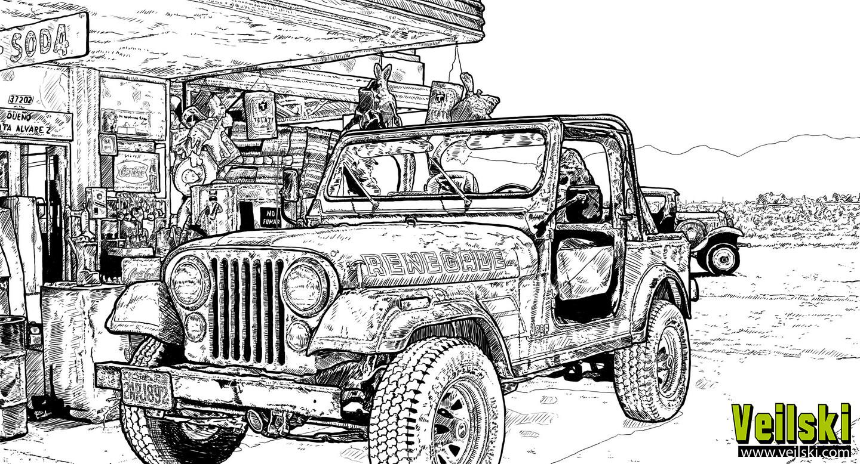 Andrei veilski zakhovaiko jeep1