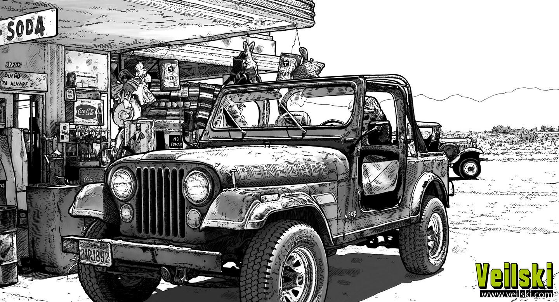 Andrei veilski zakhovaiko jeep2